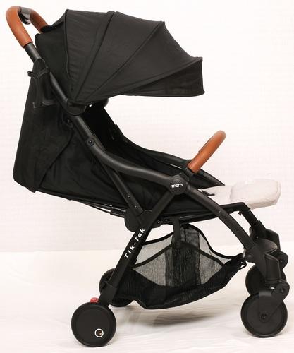 טיולון קומפקטי לתינוק עם קיפול אוטומטי טיק טק פלוס TIK TAK PLUS - אפור/שלדה כסופה
