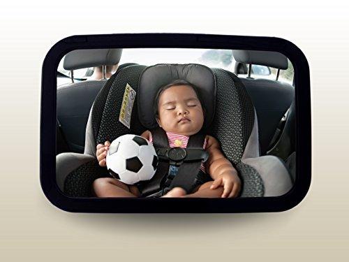 רק החוצה מראה אחורית רחבה לרכב לצפיה בתינוק במושב בטיחות/סלקל Baby line EE-39