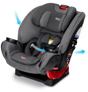מכירה מוקדמת! כיסא בטיחות משולב בוסטר וואן 4 לייף One4Life Clicktight בצבע Black Diamond