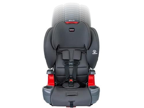 כסא בטיחות משולב בוסטר Grow With You (לשעבר פיוניר) - צבע Pebblle