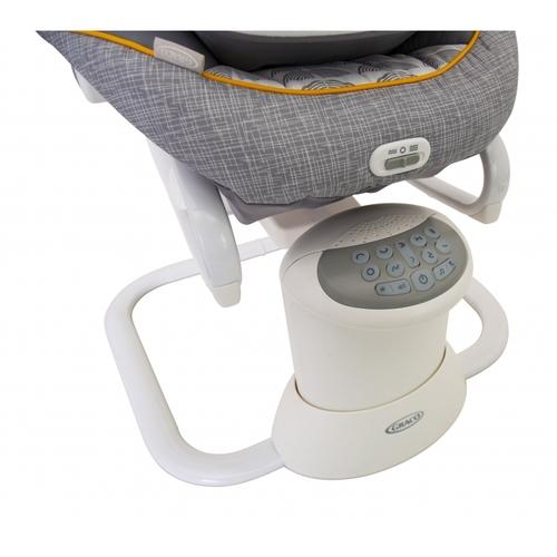 נדנדה לתינוק 2 ב 1 משולבת טרמפולינה עם 8 מצבי נידנוד ושני כיוונים ALL WAYS SOOTHER - HRIZO אפור