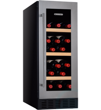 האופנה האופנתית מקרר יין וינטק (vintec) אינטגרלי ל 20 בקבוקים V20SGESS- ֻֻ| Edepot YL-79