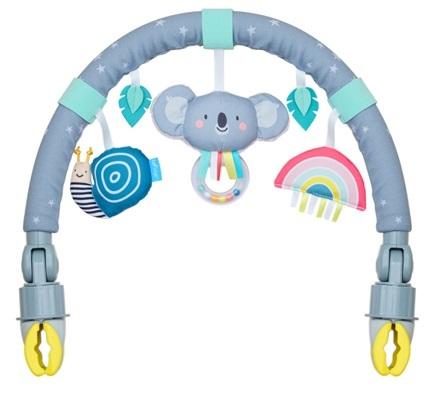קשת מתכווננת לעגלה או טיולון קואלה ורעשן עם חיבור מהיר טף טויס Taf Toys - - צעצועים לטיולונים ולעגלות