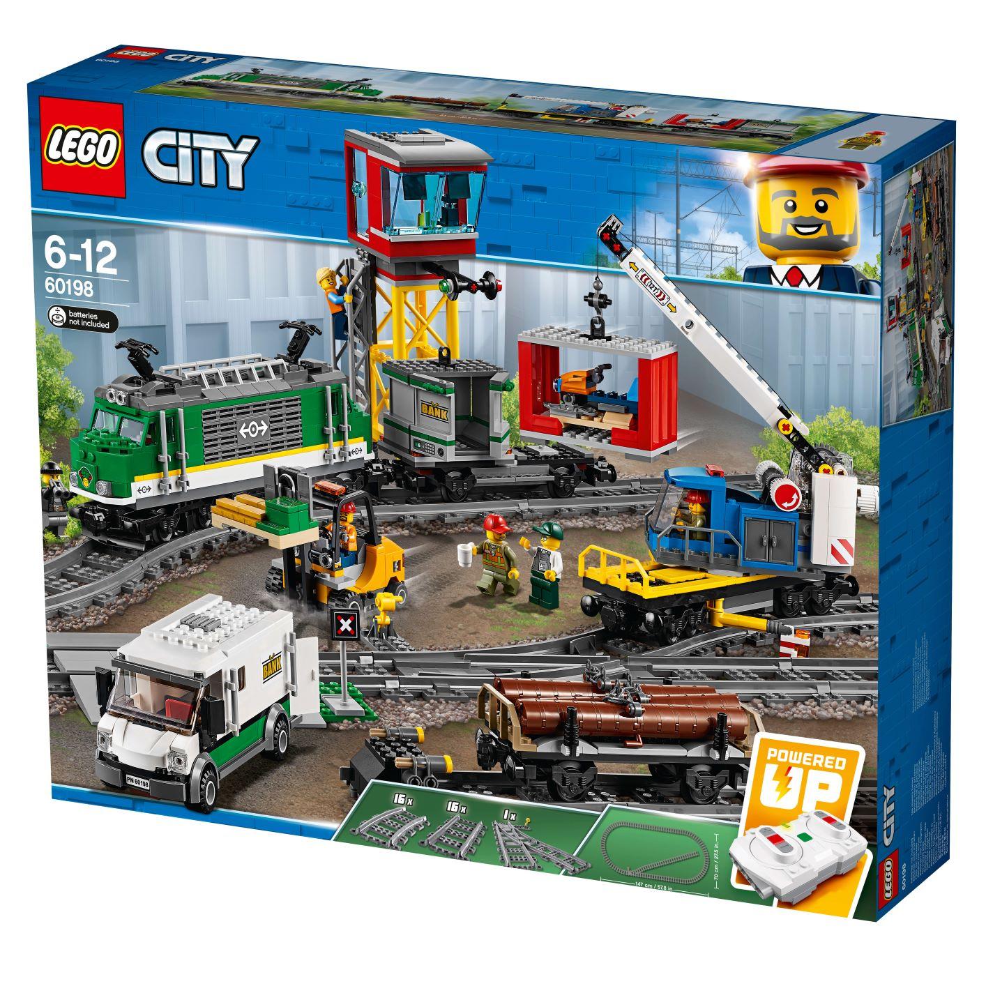 לגו סיטי - רכבת מטען 60198 - CITY