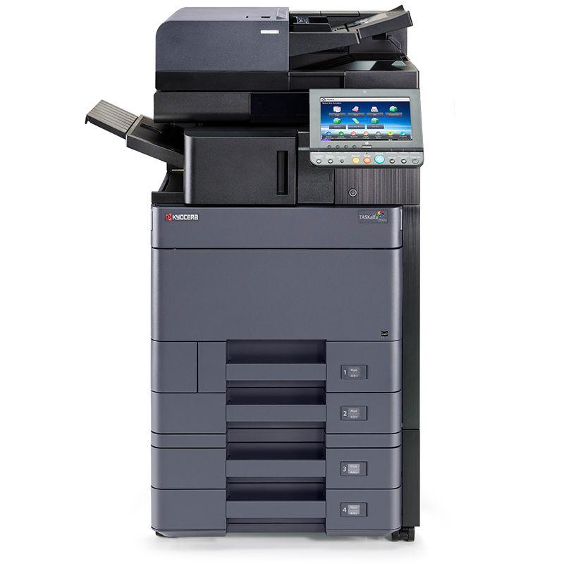 מכונת צילום צבעונית מדגם קיוסרה 2553ci מדפסות לייזר א ר לייזר ליין