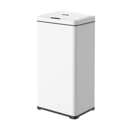 פח אשפה אלקטרוני 50 ליטר SMARTER צבע לבן