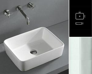 מדהים כיורים לאמבטיה - סוג: מרובעים\מלבנים - אביטל דיזיין WF-97