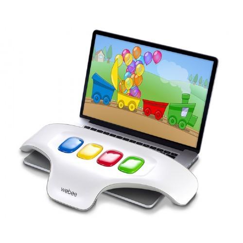 מקלדת WEBEE לילדים + 20 משחקים