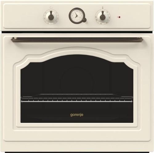 מיוחדים תנור בנוי רטרו 60 שמנת  תנור בילד אין GORENJE  תנור שמנת גורנייה SU-78