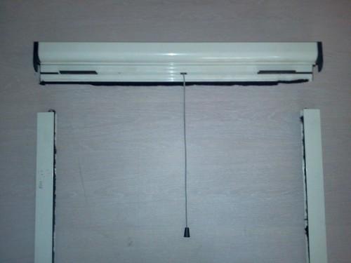 מודרניסטית רשת גלילה לחלון- פרגולנד JZ-12
