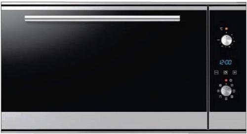 מגה וברק תנור אפיה בנוי 90 סמ SONAR  תנור בילד אין 90 – סמגל עלית CC-55
