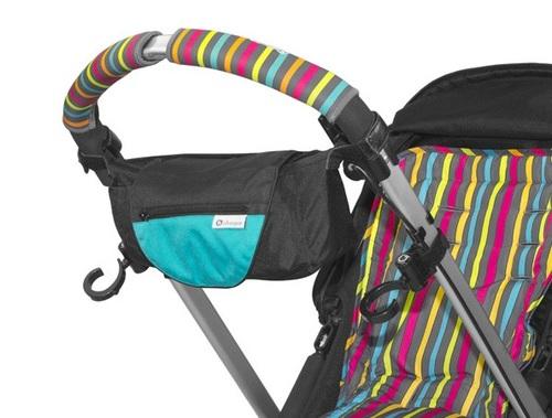 מתוחכם אירגונית לעגלת תינוק 2 ב 1 עם תיק יד מתנתק Choopie - Choopie ID-44